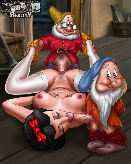 snow white cartoon sex