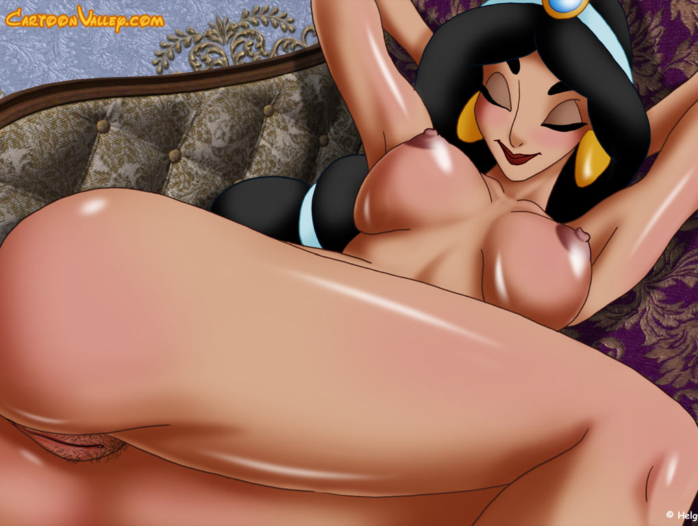 Princess jasmine nude sex, beaver shot