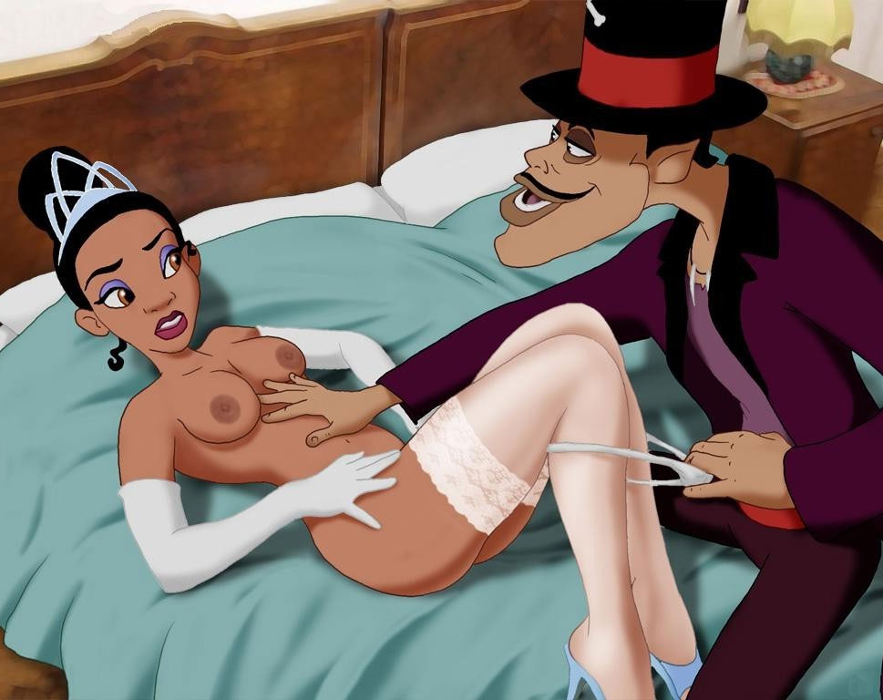 Disney Sex With Princess Tiana Getting Nailed By Dr Facilier-6690
