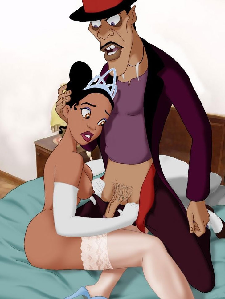 Disney Sex With Princess Tiana Getting Nailed By Dr Facilier-5504